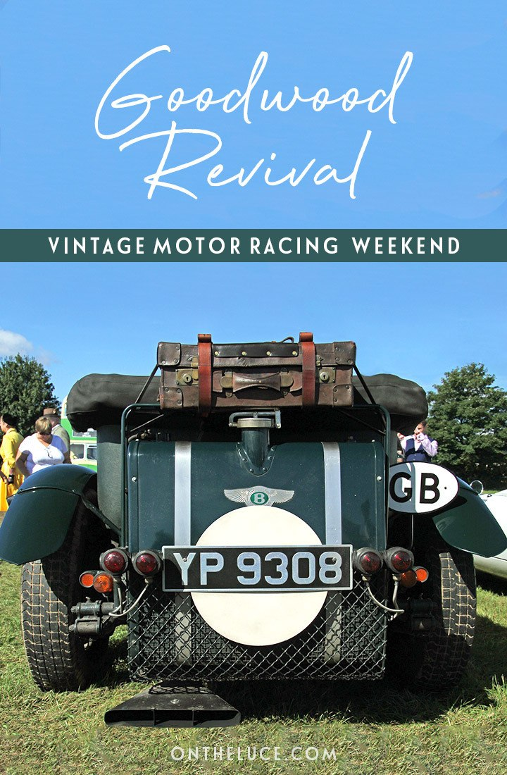 A guide to the 2019 Goodwood Revival vintage motor racing event in Sussex, England – buying tickets, what to wear, how to get there, where to stay and more #Goodwood #Sussex #motorracing #vintage