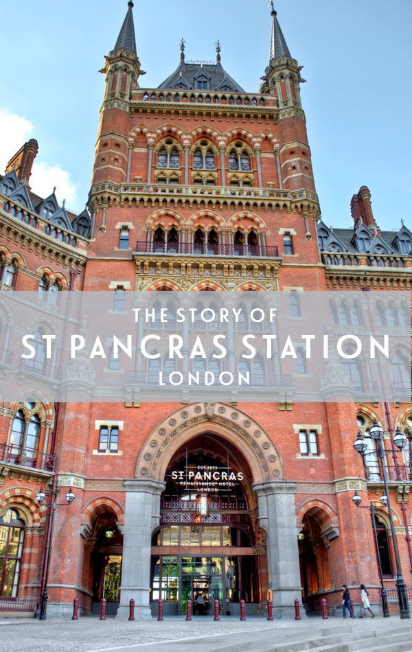 London's St Pancras station: Saved by a poet – On the Luce travel blog