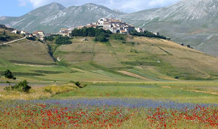 Castelluccio in Umbria, Italy