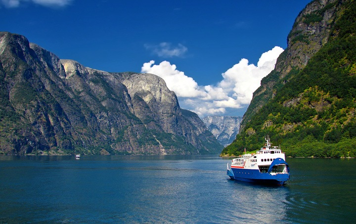 Norwegain fjords
