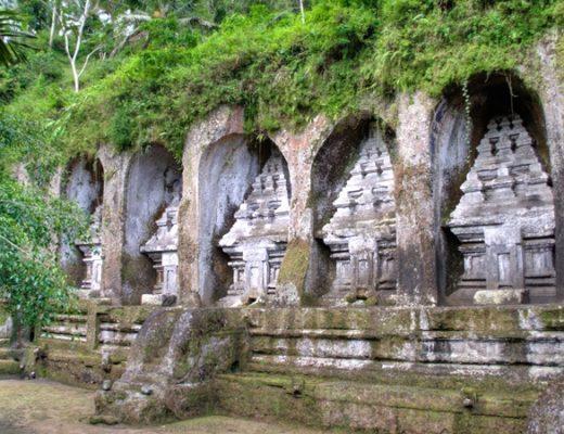 Gunung Kawi rock temples