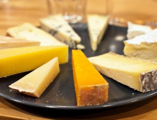 Neal's Yard Dairy cheese tasting