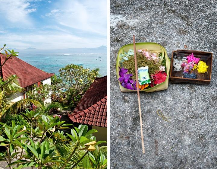 Nusa Lembongan guesthouse view