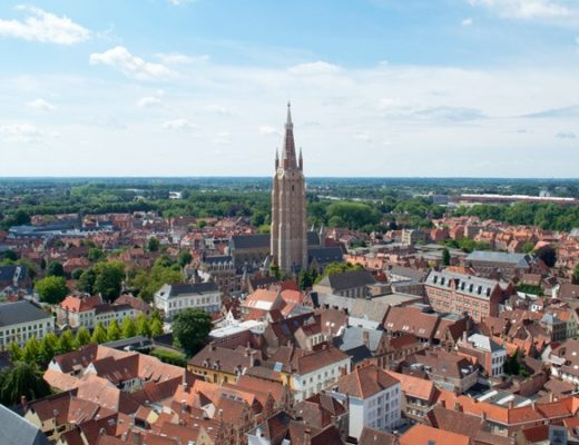 Views over Bruges