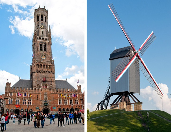 Belfort and windmill