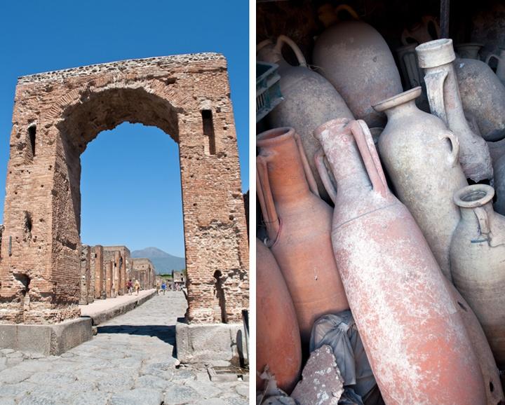 Amphorae at Pompeii