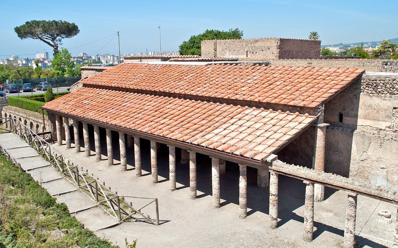 The Villa dei Misteri in Pompeii