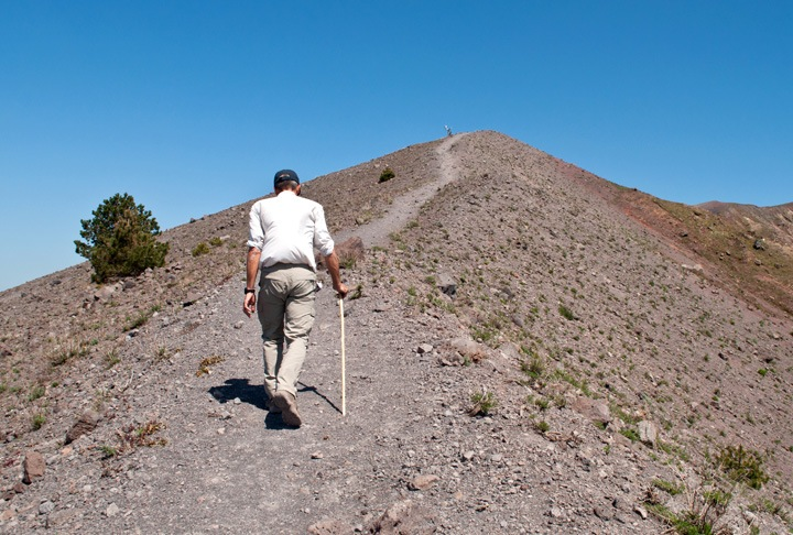 Vesuviius crater walk