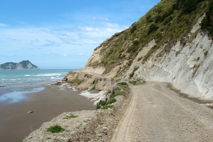 East Cape road