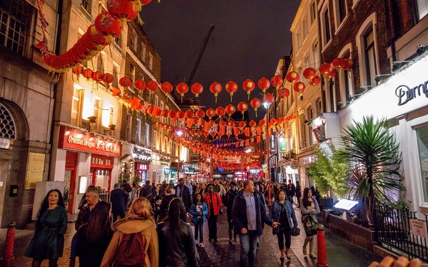 The streets of Soho on a Twilight food tour