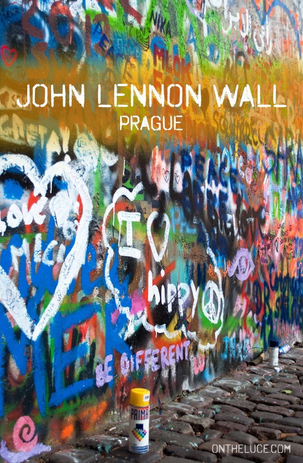 Prague's John Lennon Wall – On the Luce travel blog