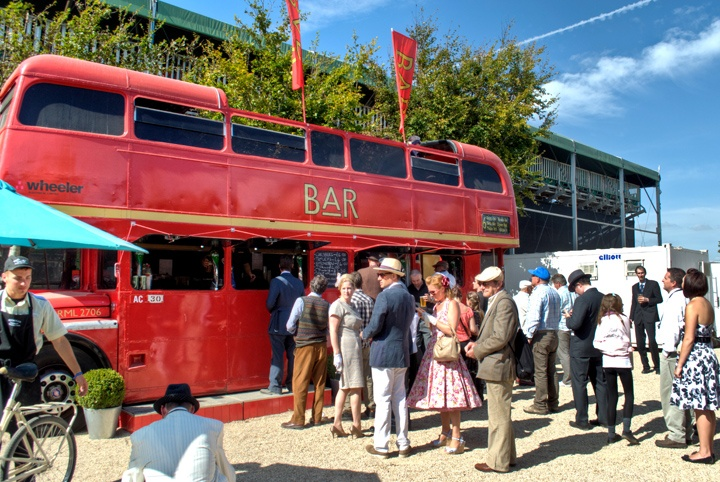 Goodwood Revival bus bar