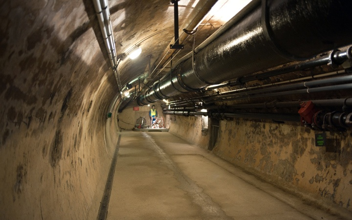 Paris sewer tour