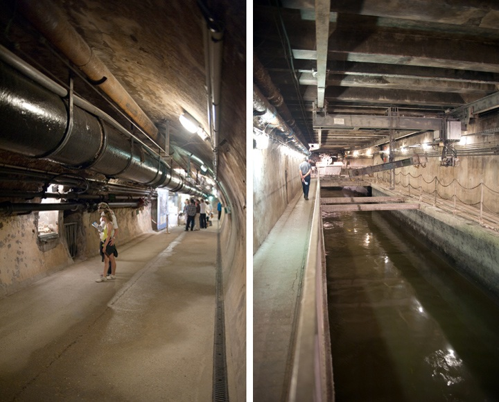 Underground Paris sewer tour