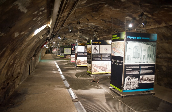 Sewer museum in Paris