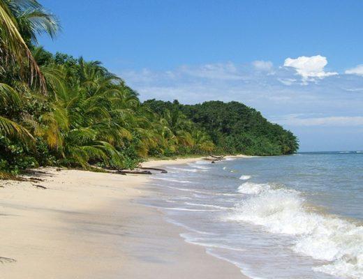 Beach at Cahuita National Park, Costa Rica
