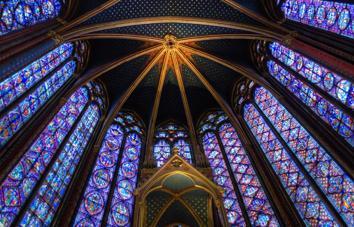 Saint-Chapelle stained glass