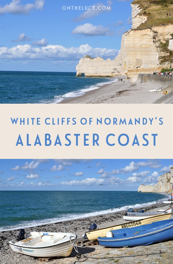 The white cliffs of Normandy's Alabaster Coast – On the Luce travel blog