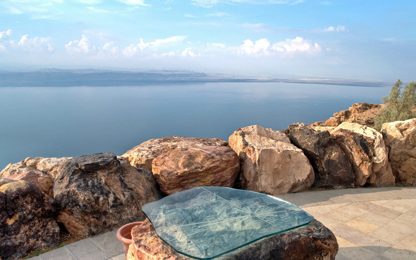Views from the Dead Sea Panoramic Complex in Jordan