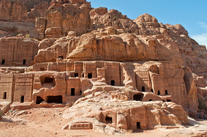 Street of Facades at Petra, Jordan