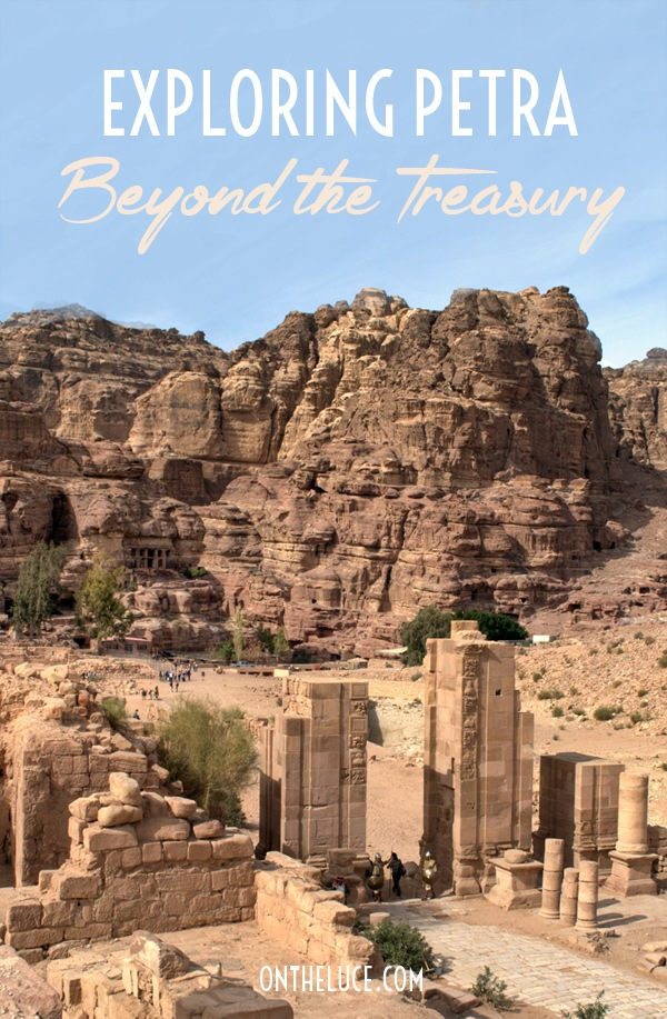 Exploring Petra: Beyond the Treasury – On the Luce travel blog