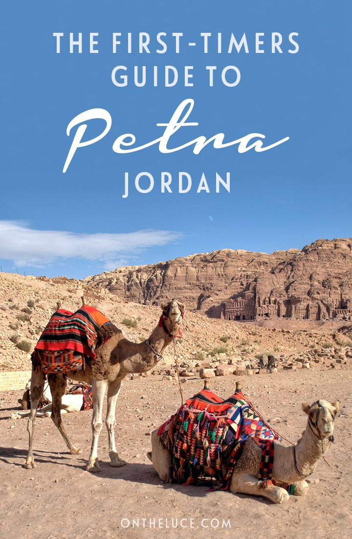 A guide to visiting Petra in Jordan for the first time – including where to stay in Wadi Musa, how to get to Petra, when to visit, what to wear and how much it costs. #Petra #Jordan #MiddleEast