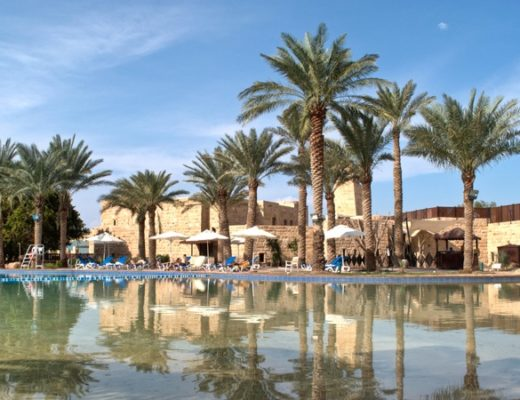 Movenpick hotel on the Dead Sea, Jordan