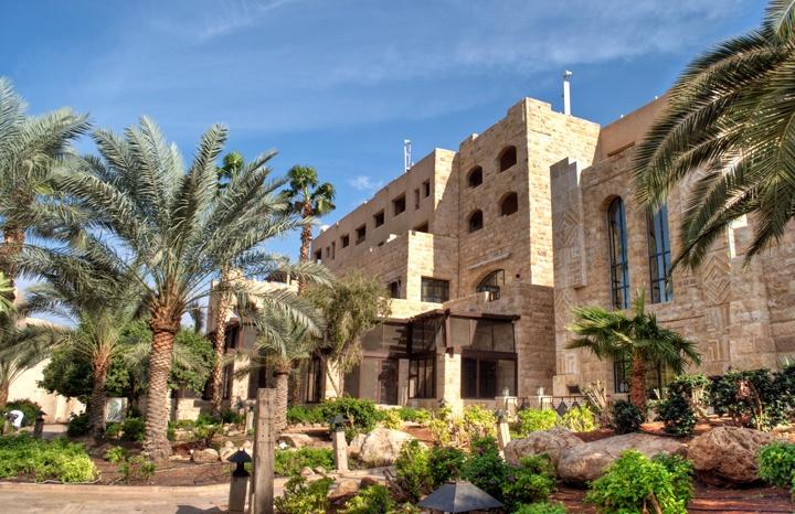 The five star Movenpick Hotel and Spa Dead Sea, Jordan