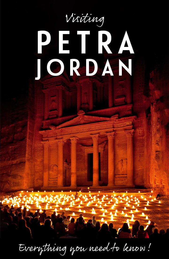 Everything you need to know about visiting Petra in Jordan – including how to get there, where to stay, when to visit, what to wear and how much it costs to visit Petra #Petra #Jordan #MiddleEast