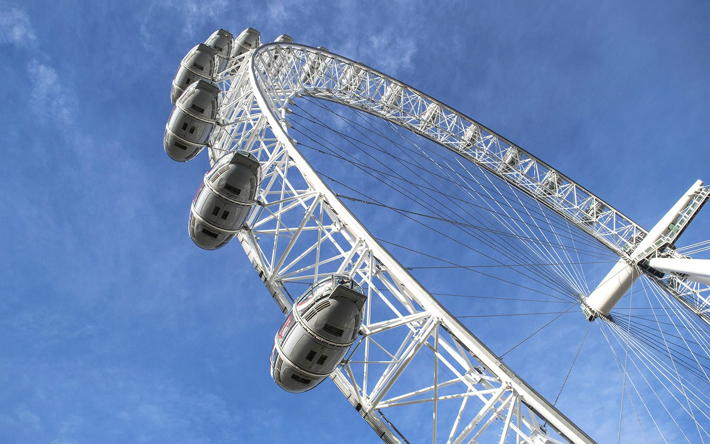 The London Eye – visiting London on a budget