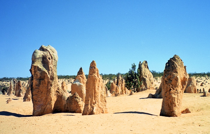 The Pinnacles in Nambung National Park, Australia