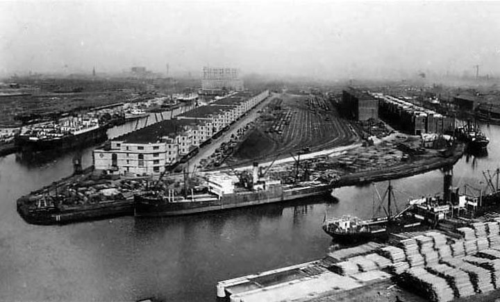 Manchester Dock, 1900s