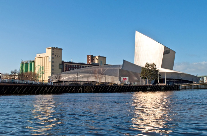 The Imperial War Museum North in Salford Quays, Manchester