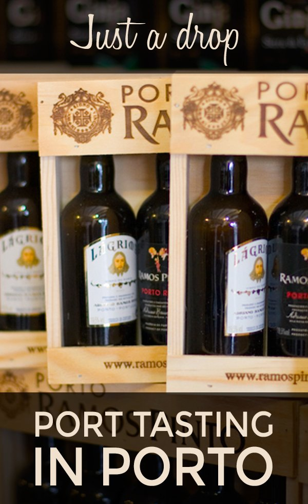Tasting port in Porto's Vila Nova de Gaia on a tour of the cellars and a tasting of two of Portugal's most famous producers – Taylor's and Ferreira