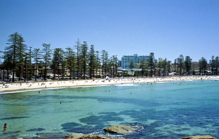 Manly beach in Sydney, Australia
