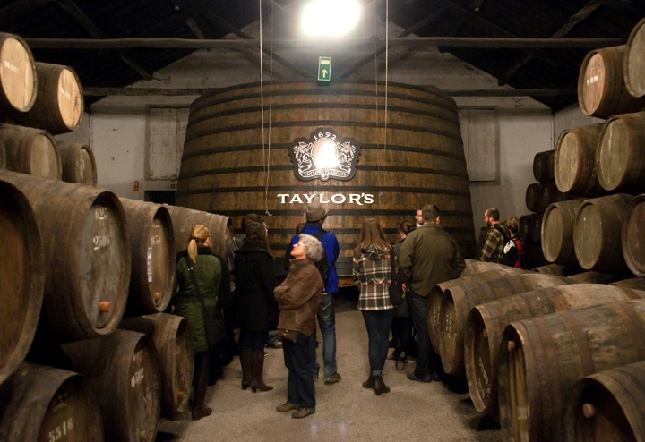 Port tasting at Taylor's in Porto, Portugal