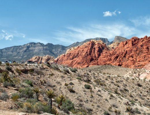 Red Rock Canyon near Las Vegas in Nevada, USA