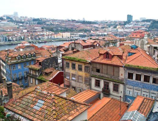 Porto's Ribeira old town