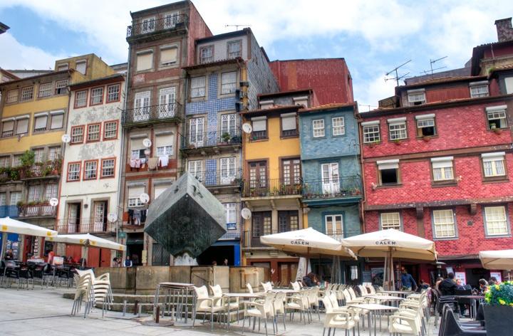 Porto's Ribeira old town, Portugal