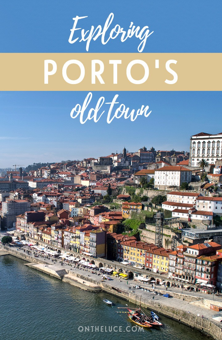 Wandering through the streets of Porto's medieval old city, a UNESCO World Heritage site, with crumbling buildings cascading down towards the River Duoro.