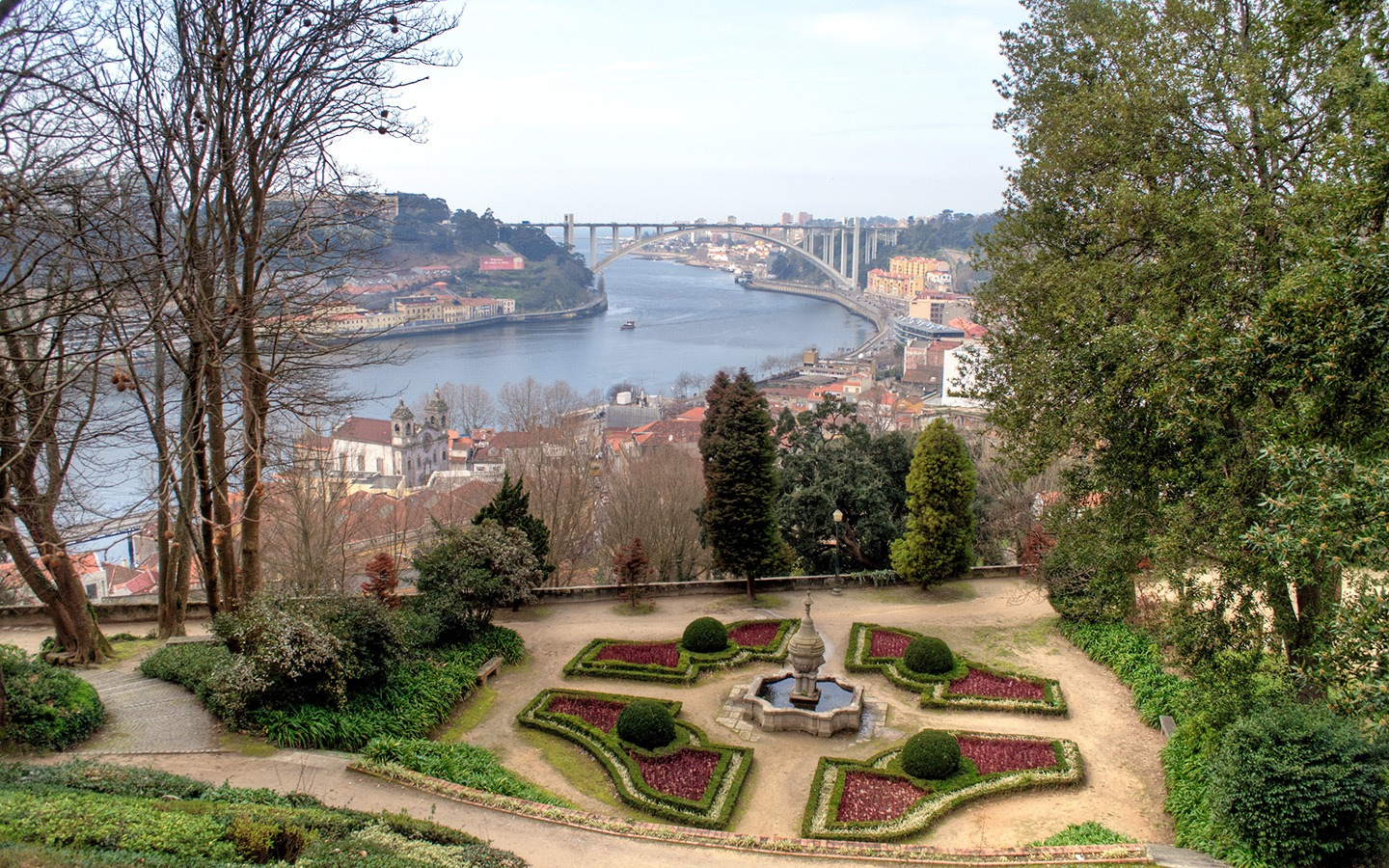Gardens in the Ribeira district