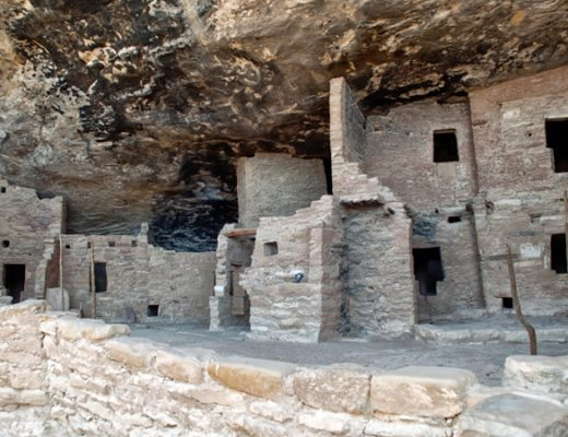 Spruce Tree House at Mesa Verde National Park, Colorado, USA