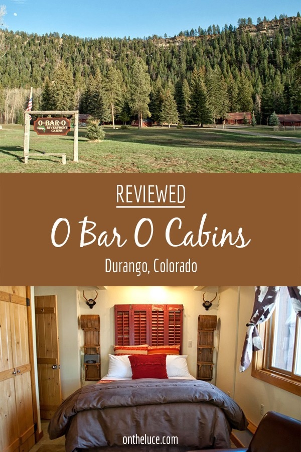 O Bar O Cabins, luxury log cabins among a pine forest in Durango, Colorado USA