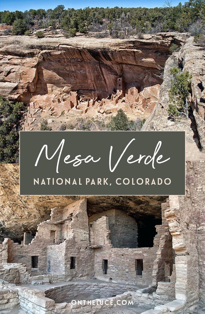 A guide to Mesa Verde National Park and UNESCO World Heritage Site, Colorado, USA: Discovering the mysteries of the cliff houses of the Ancestral Puebloans which date back to 1200 AD #MesaVerde #NationalPark #Colorado #USA