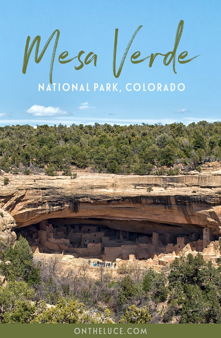 Exploring the mysteries of the Ancestral Puebloans at Mesa Verde National Park, Colorado, USA, with cliff houses built into the rocks dating back to 600 AD. #Colorado #MesaVerde #NationalPark #USA #SouthwestUSA #roadtrip