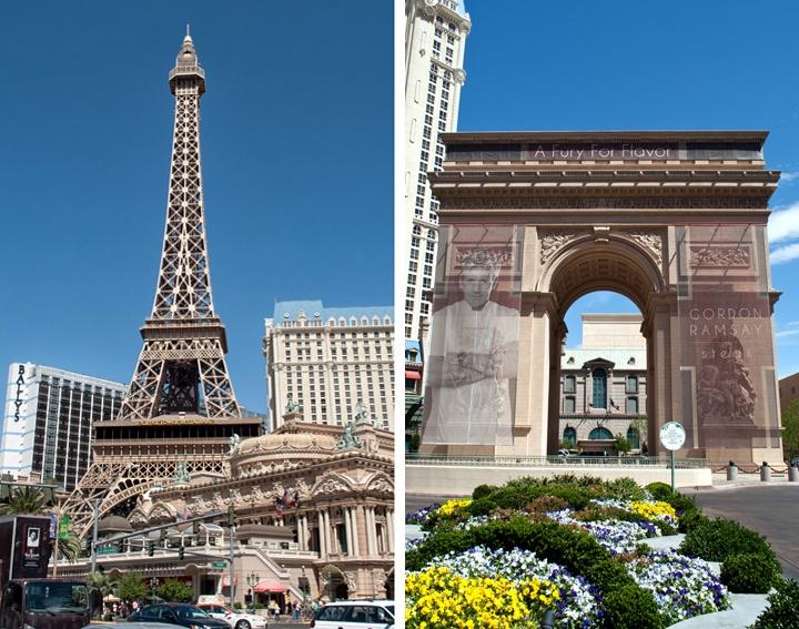 Paris Las Vegas On The Strip