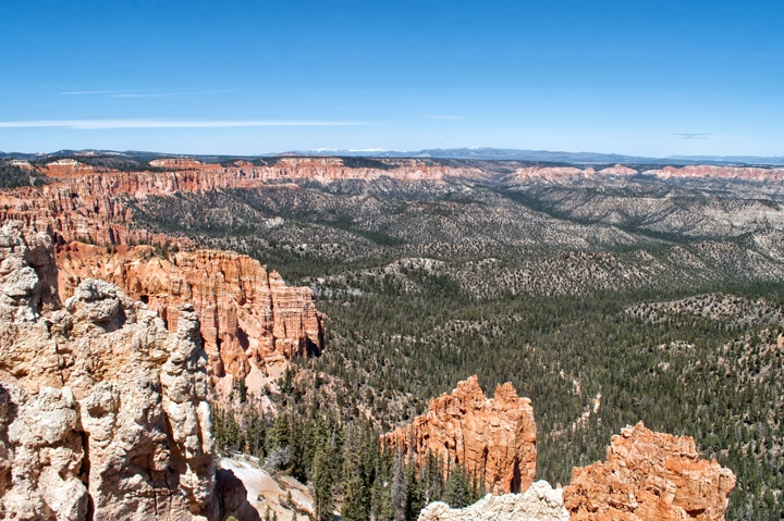 Rainbow Point, Bryce Canyon National Park, Utah
