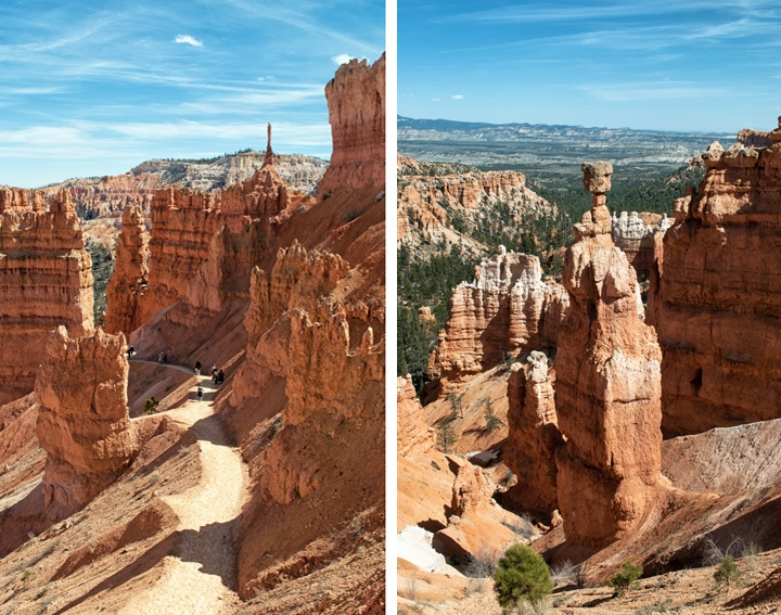 Hoodoos on the Navajo Loop Trail, Bryce Canyon National Park, Utah