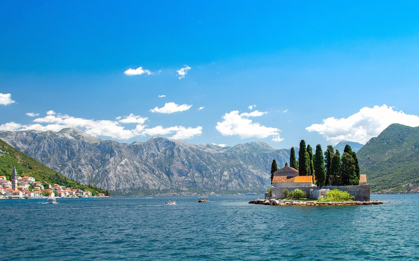 The island of Our Lady of the Rocks, Bay of Kotor