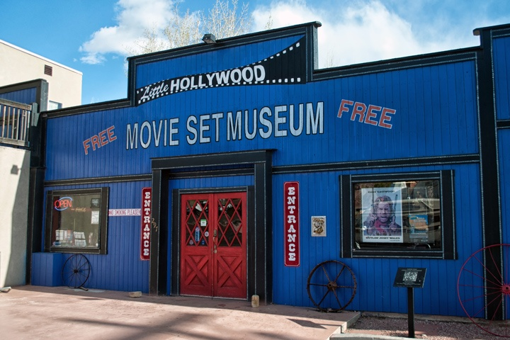Little Hollywood Movie Set Museum in Kanab, Utah